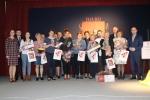 Laureaci i organizatorzy (fot. GOK Werbkowice)