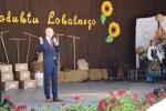 """Kilka słów do opolskiej publiczności skierował członek Zarządu Województwa Lubelskiego, Sebastian Trojak (© LGD """"Owocowy Szlak"""")"""