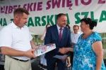 Zwycięzcom gratulował i sukcesów życzył wicemarszałek województwa Grzegorz Kapusta (fot. Konrad Sidor/UMWL)