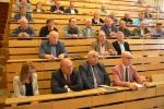 Słuchacze przybyli na konferencje dotyczącą ASF