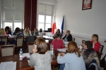 Szkolenie pracowników Ośrodków Pomocy Społecznej, luty 2018, fot. UMWL