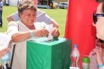 Podczas plebiscytu na najładniejsze logo festiwalu (fot. Piotr Banak/UMWL)
