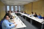 Spotkanie delegacji Telemarku z reprezentantami lubelskiego środowiska akademickiego, którego gospodarzem był wicemarszałek Krzysztof Grabczuk. (fot. UMWL)