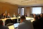 Podczas październikowego posiedzenia zespół kontynuował prace nad roboczym projektem dokumentu