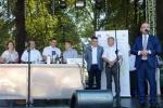 Festiwal otwierał m.in. reprezentant marszałka województwa lubelskiego – Łukasz Gołąb