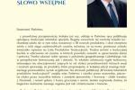 3. Słowo wstępumarszałka Sławomira Sosnowskiego
