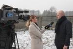 W wolierze w Starym Tartaku była z nami TV Lublin
