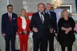 1. Do promotorów lubelskich ryb zalicza się m.in. wicemarszałek Grzegorz Kapusta (przy mikrofonie), a także: sekretarz województwa Anna Augustyniak (druga z lewej) i dyr. Sławomir Struski (pierwszy z lewej)