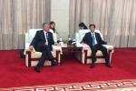 spotkanie z Gubernatoren Chen